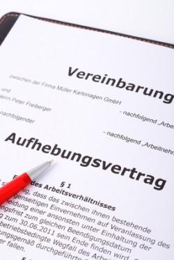 Aufhebungsvertrag Unna Rechtsanwalt Arbeitsrecht Boenen